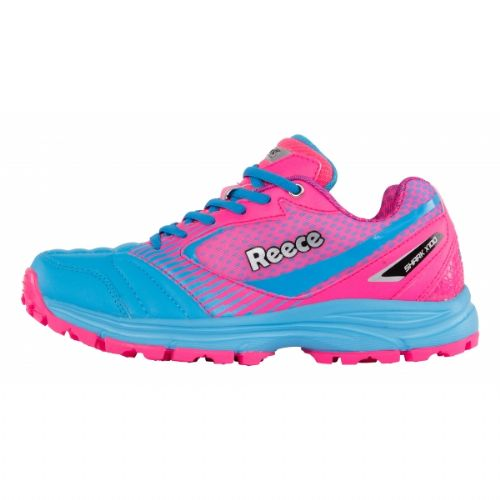 Reece Shark Pink/Blue Hockey Shoe Junior